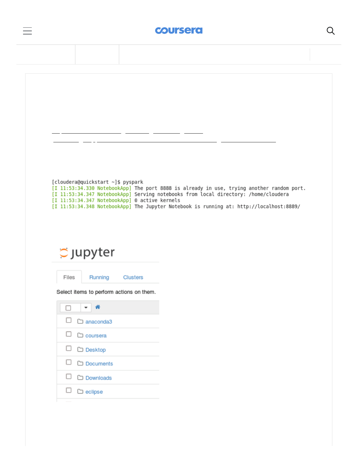 Instructions For Starting Jupyter