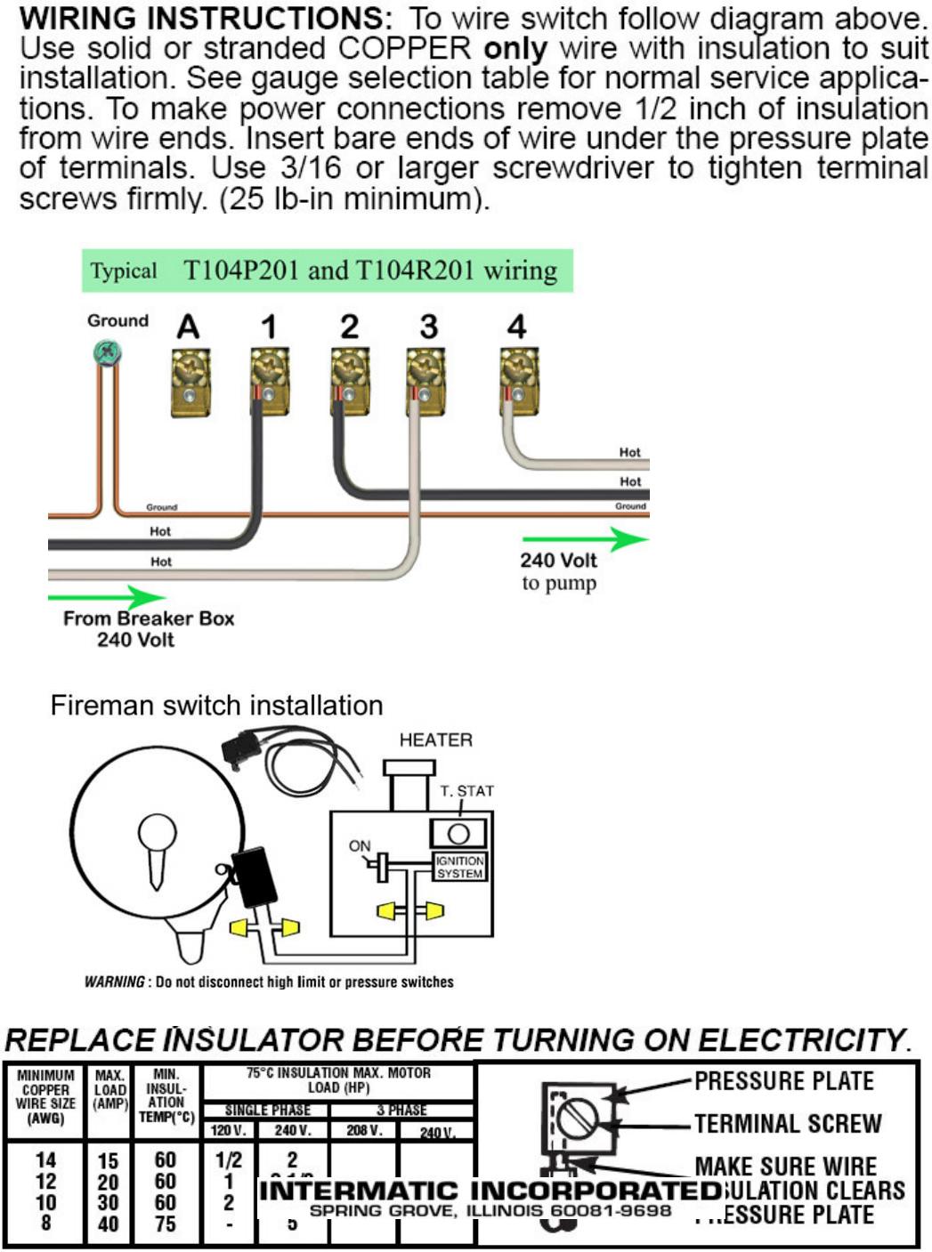 [SCHEMATICS_43NM]  Intermatic T104P201 instruction manual T104R201 | Intermatic T104r201 Wiring Diagram |  | UserManual.wiki