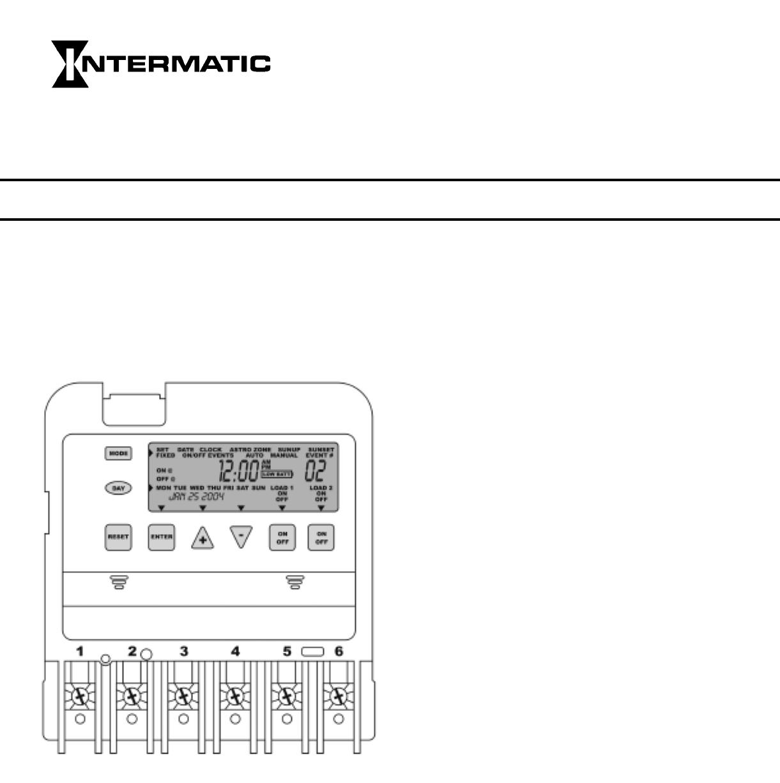 Intermatic 240v Photocell Wiring Diagram