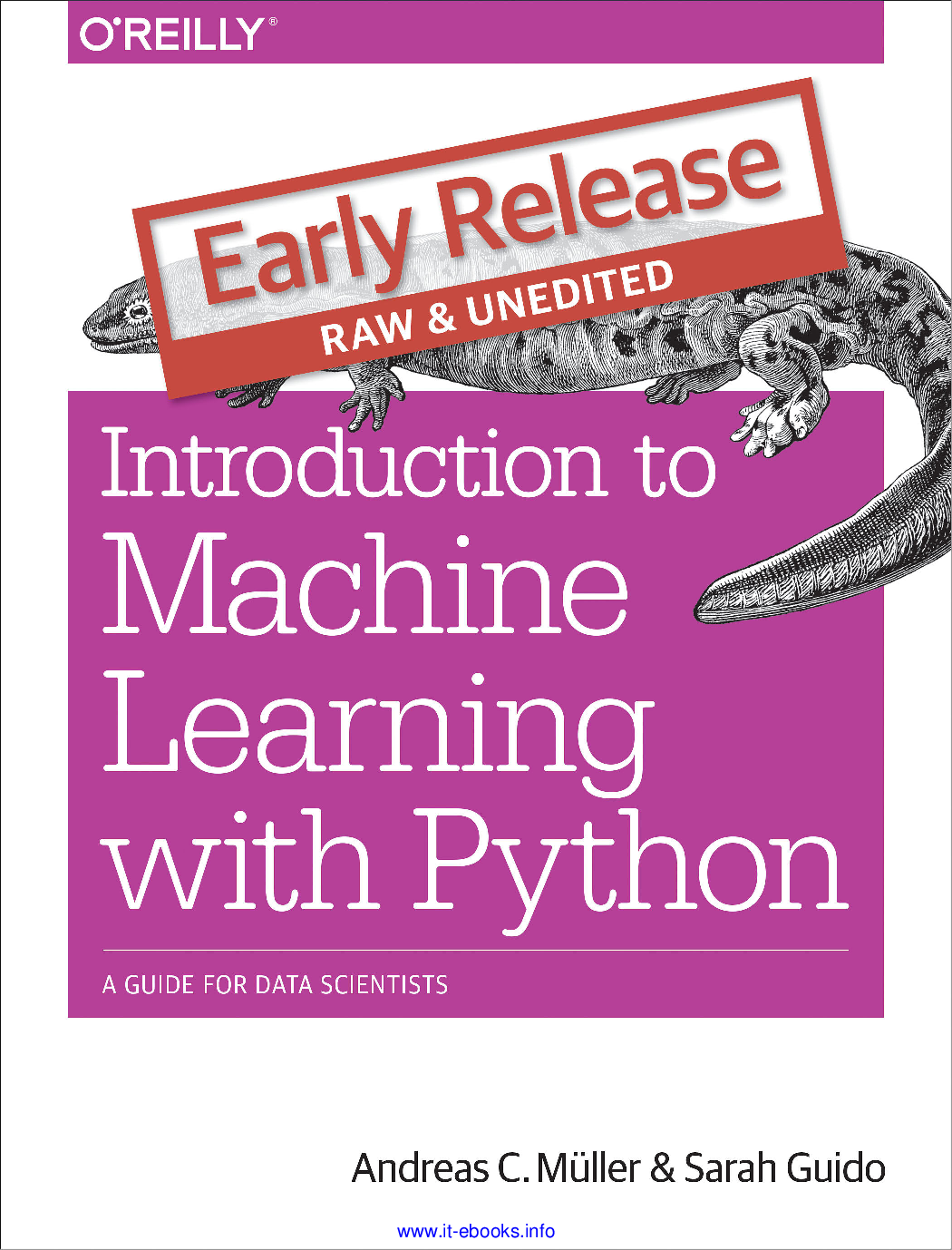 Machine Learning With Python Introduction To A Guide For Data ...