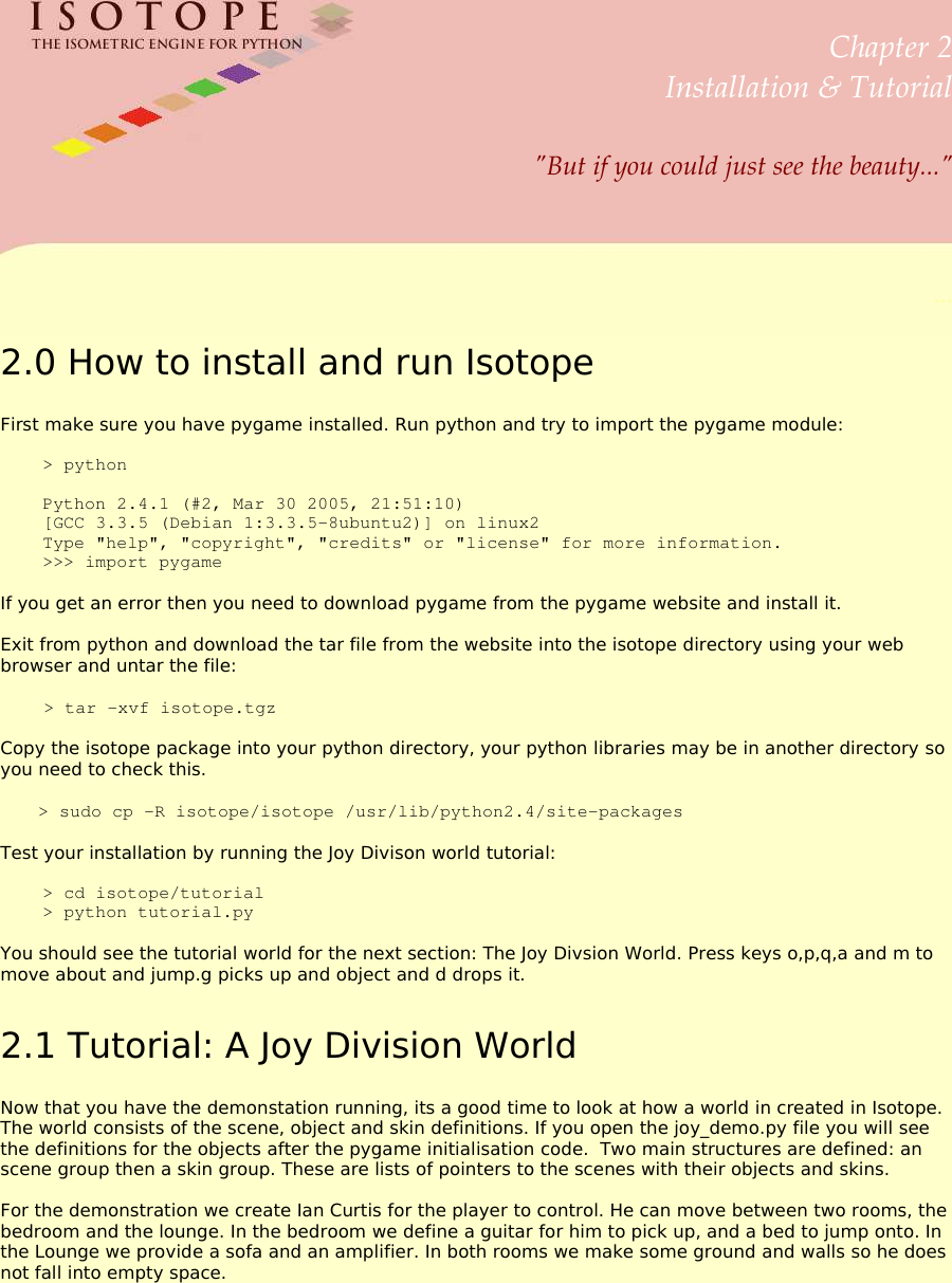 Isotope Guide