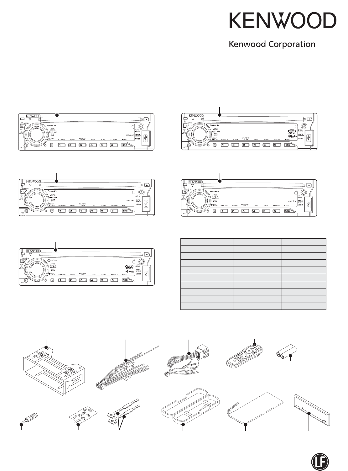 Kdc Kenwood Model 122 Color Wiring Diagram This Product Uses Lead Free Solder