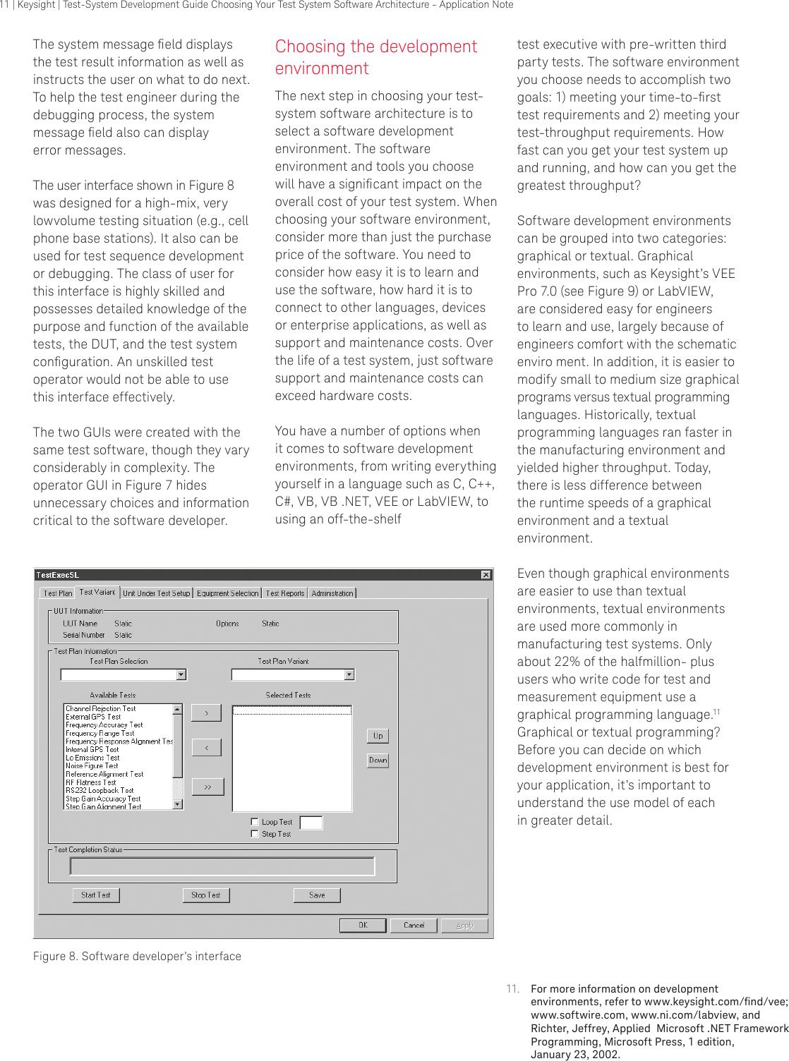 Keysight System Development Guide