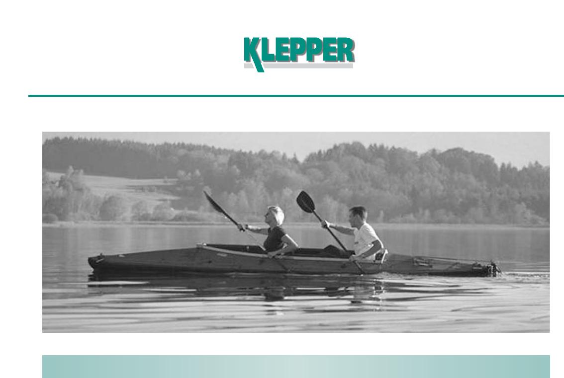 Aufbauanleitung_engl Klepper Aerius Assembly User Manual