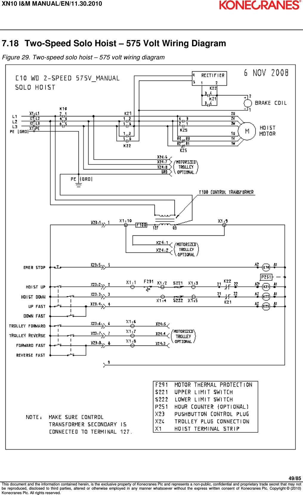 kone crane wiring diagram wiring diagram  24 volt wiring diagram crane #13
