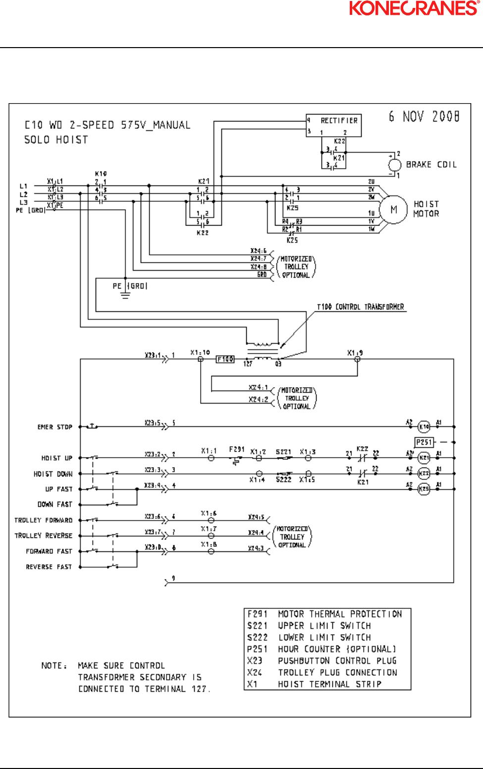 Xn10 I U0026m Manual 2010 0 Kone Cranes Hoist