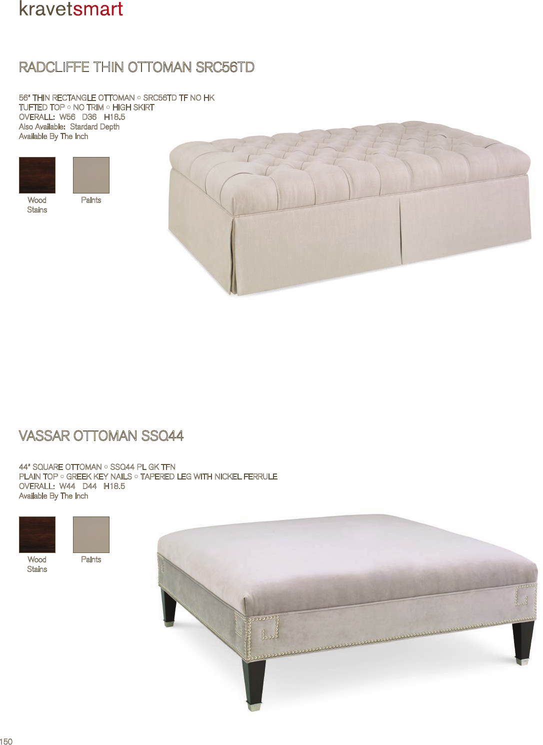 Magnificent Kravet Vassar Square Ottoman Tearsheet Pabps2019 Chair Design Images Pabps2019Com