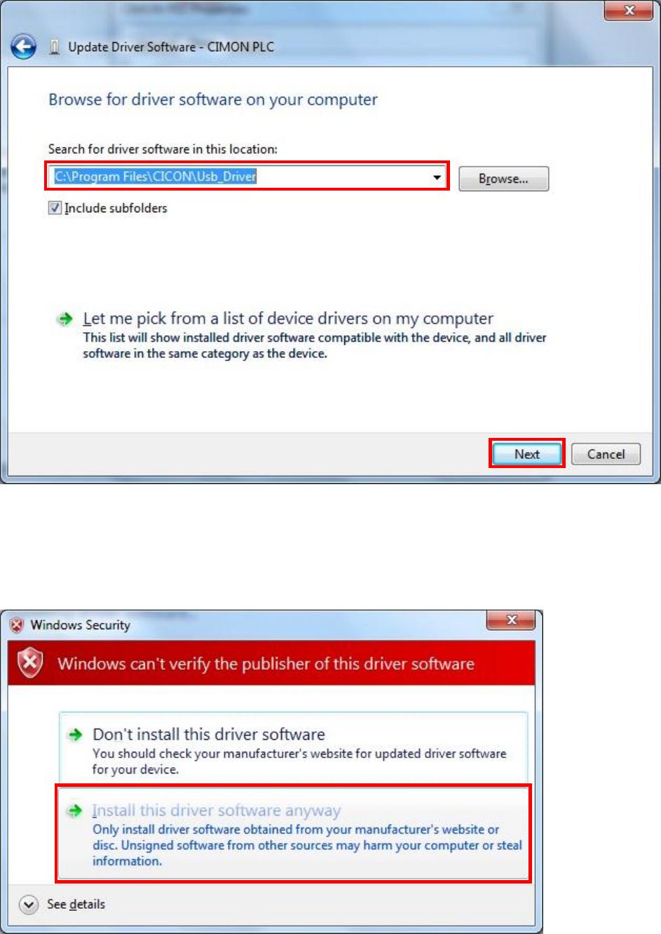 L010992 USB Driver Install