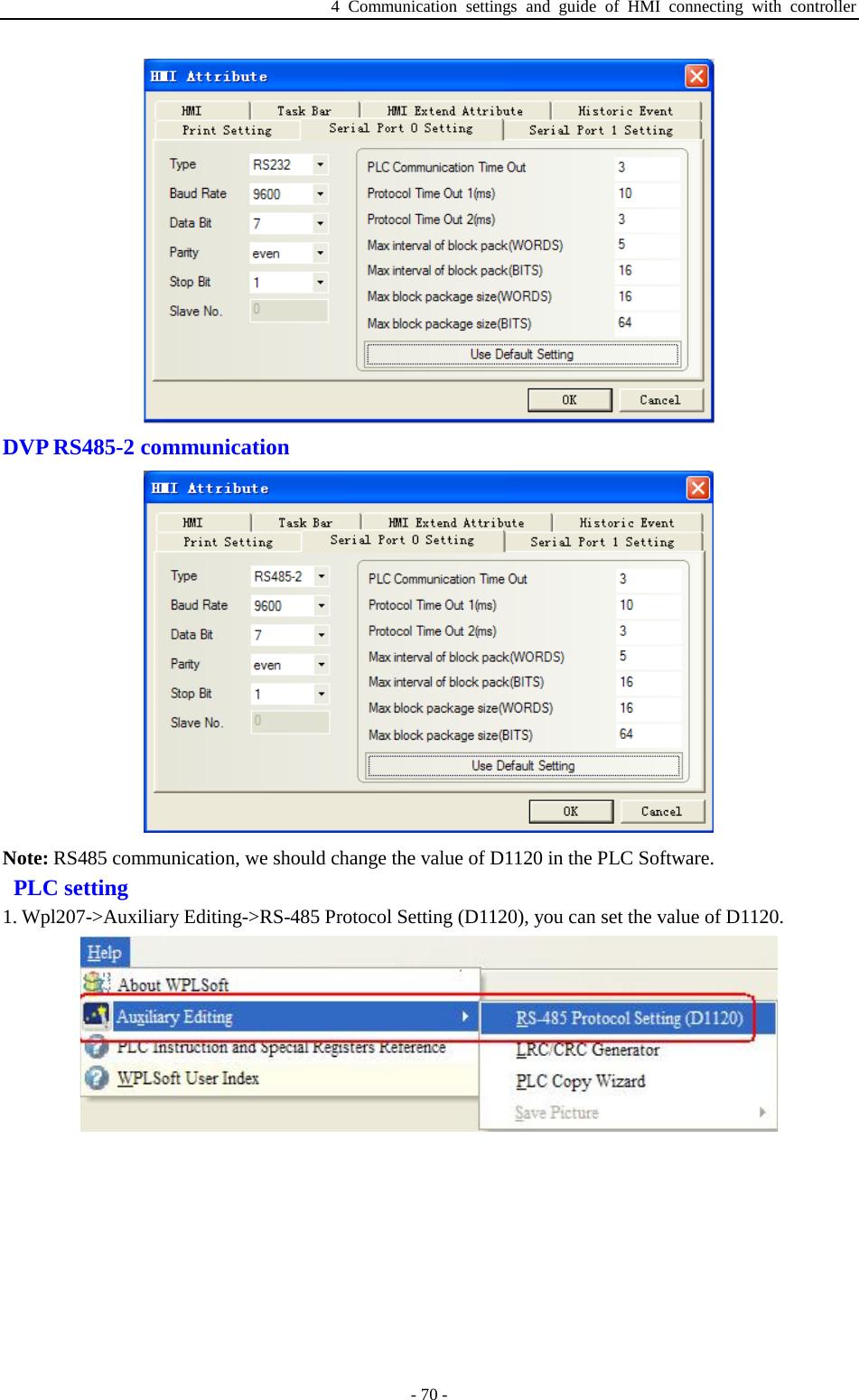 Plc Rs485 Communication