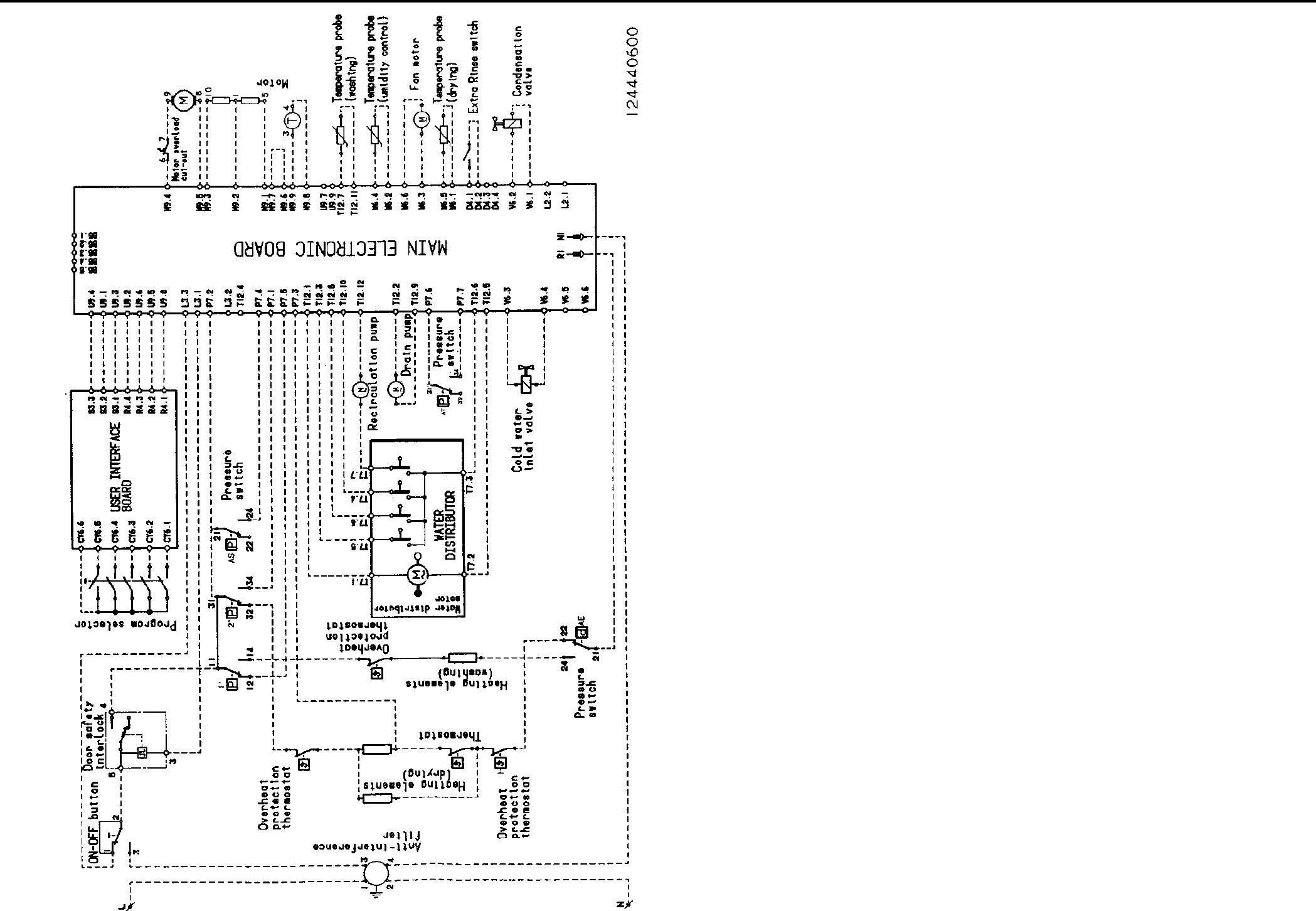 Lavamat1480 Aeg Washing Machine Wiring Diagram Waschautomaten Machines