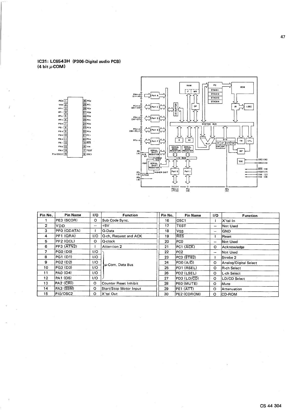 Ldp600ws En Service Manual Scan Data Sync Engineering Schematics 56809