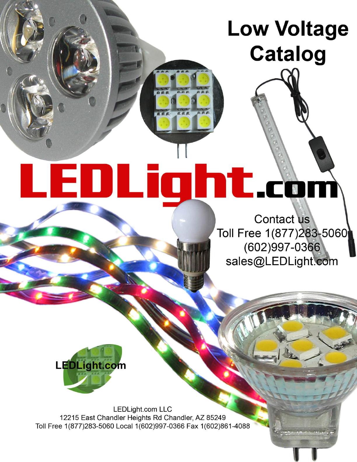 Led Light Ledlightcom Low Voltage 12v 6 12 Watt Fluorescent Tube Neon Lamp Inverter