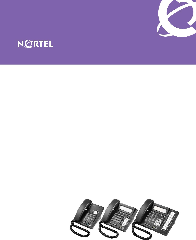 LG Nortel IP Phone 6800 Series Brochure