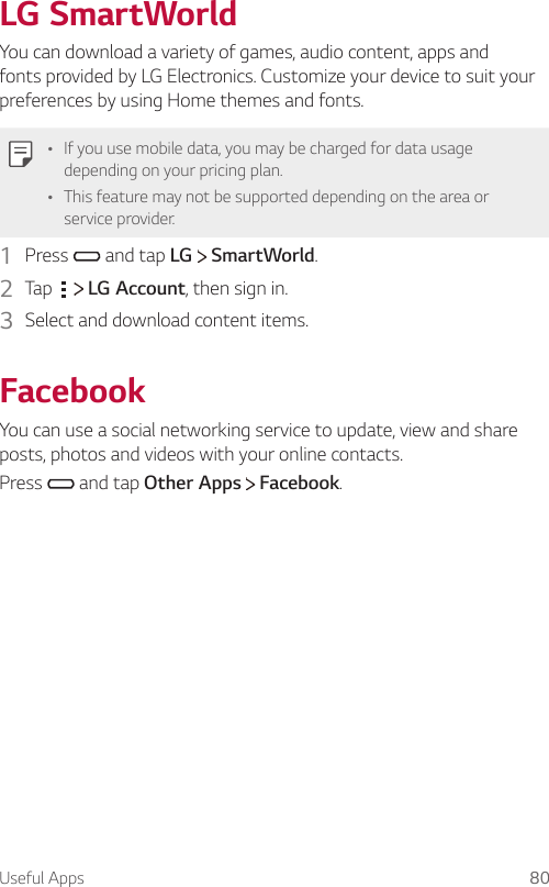 LG X Venture Manual Xventure H700