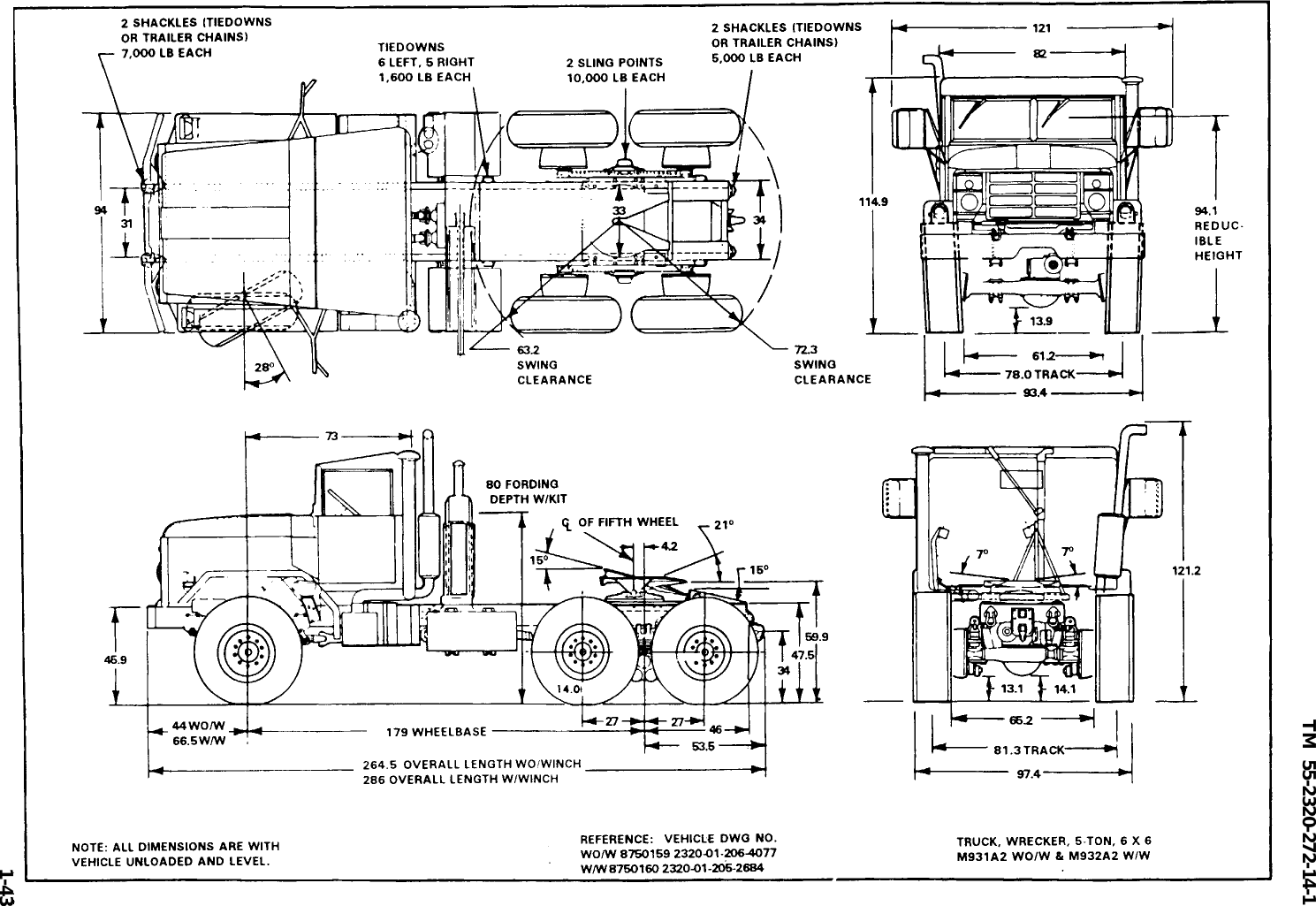TM 55 2320 272 14 1 M923_Transport_Guide M923 Transport Guide M Military Trailer Wiring Diagram on