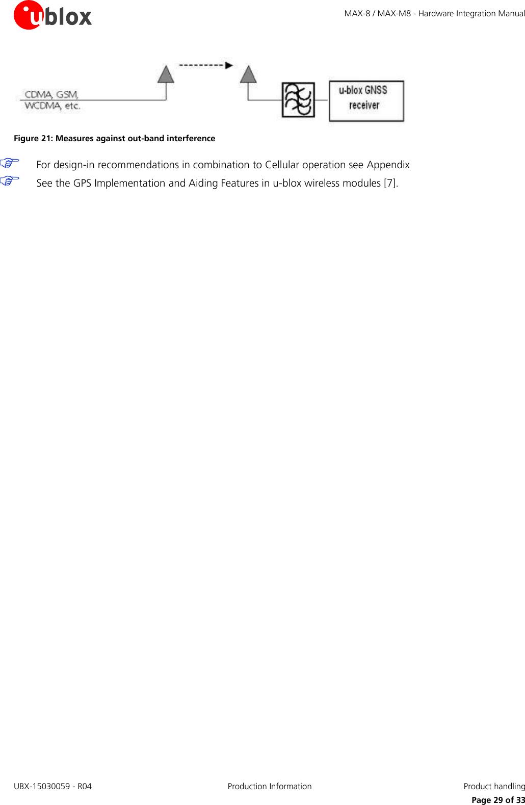 MAX 8 / M8 FW3 Hardware Integration Manual