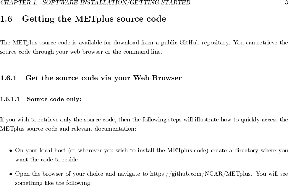 METplus Users Guide Installation