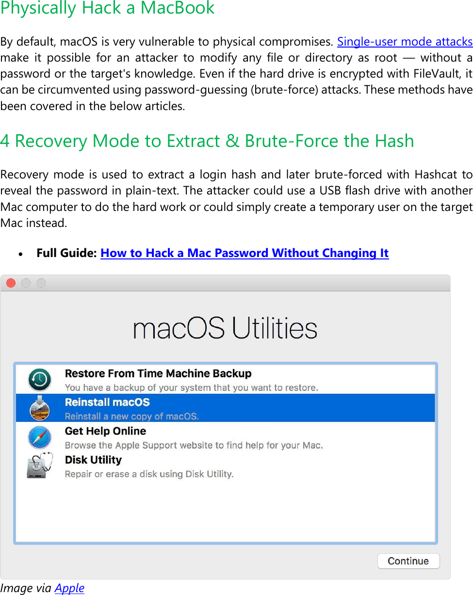 Mac Hacking Ultimate Guide