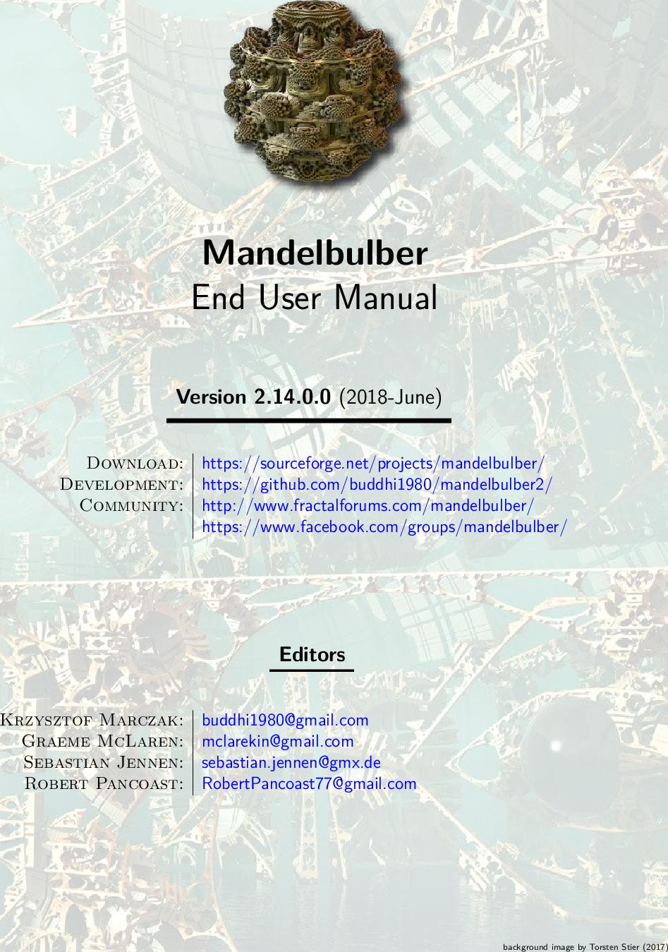 Mandelbulber Manual