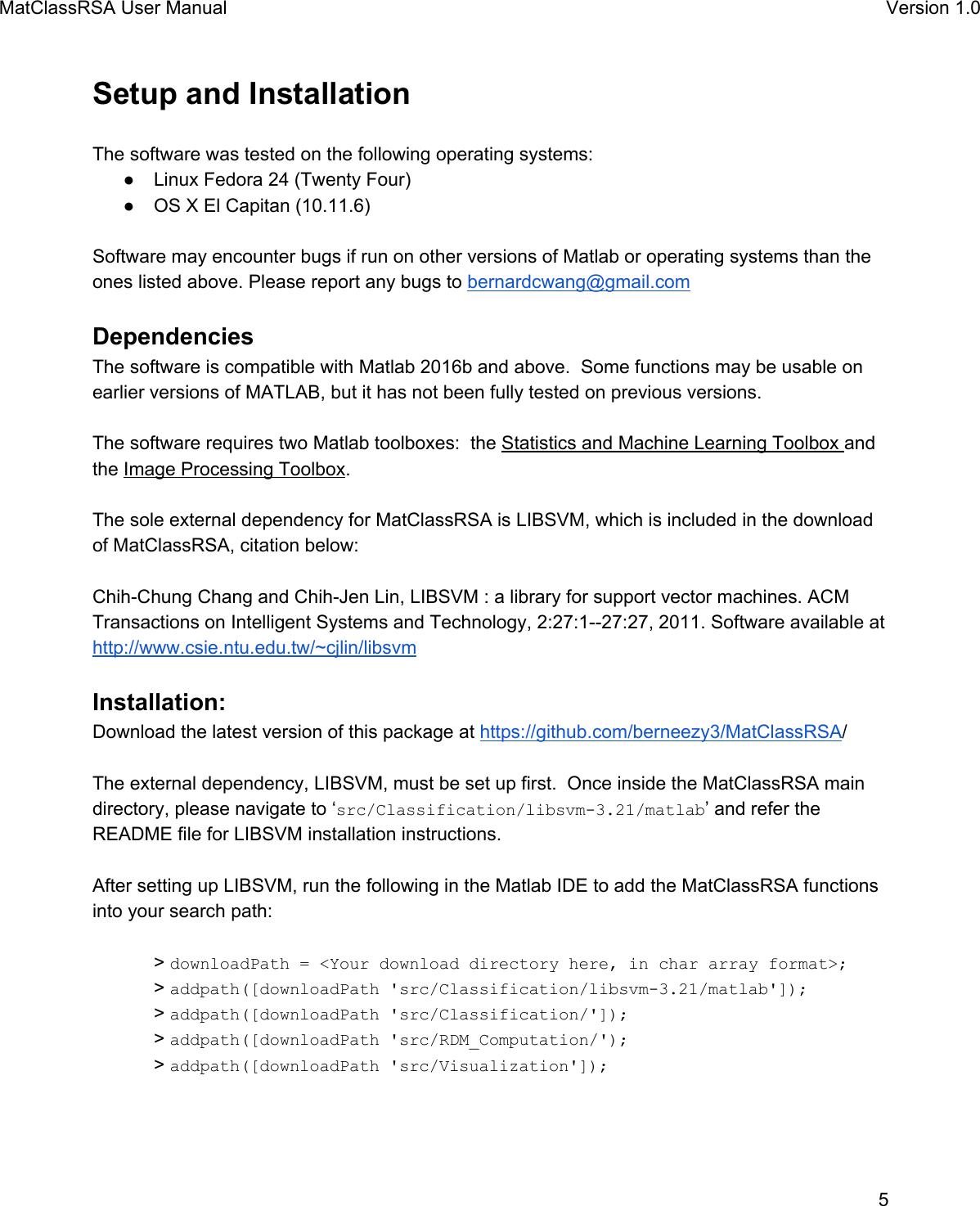 Svm Matlab Code Github