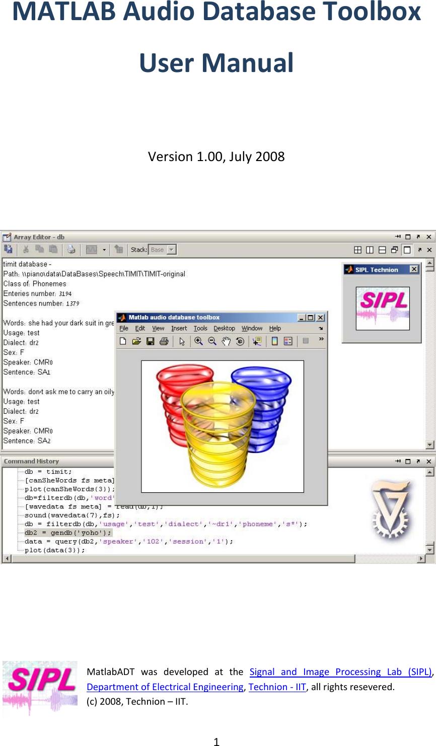 matlab user manual