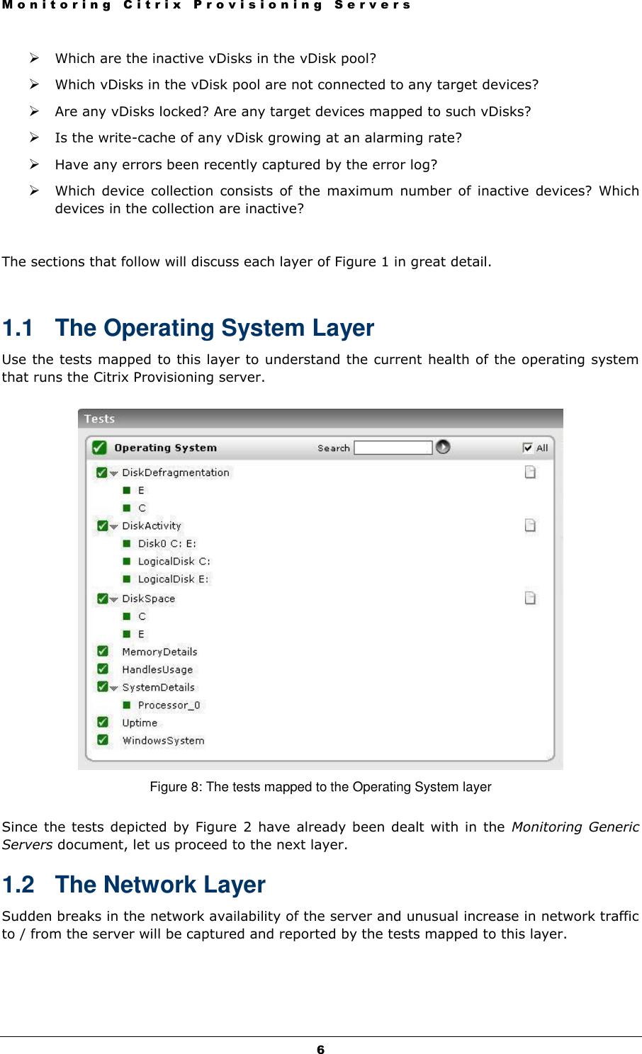 Monitoring Citrix PVS