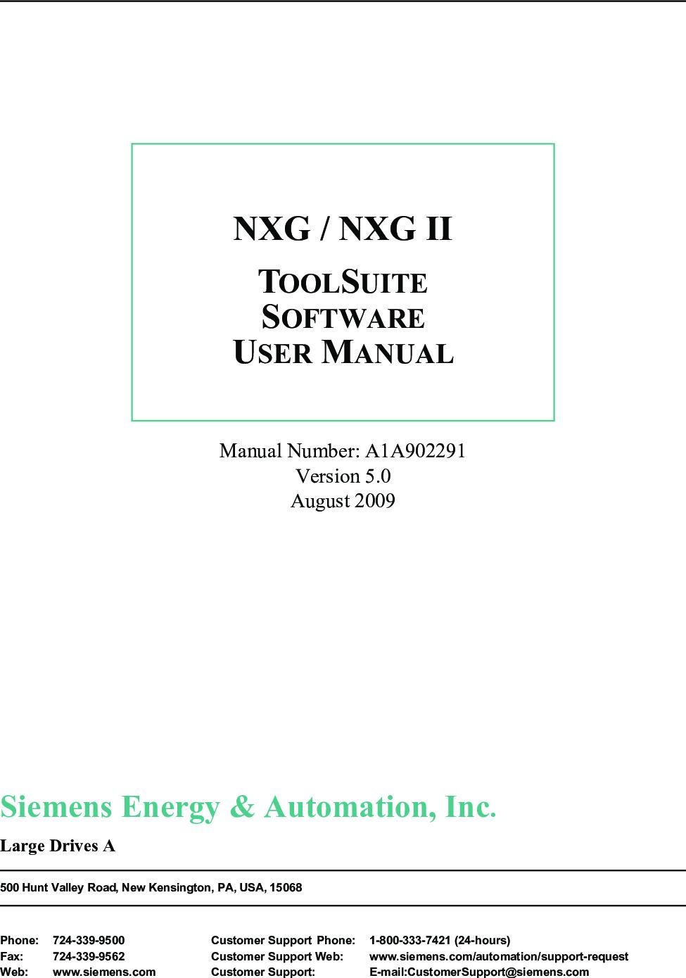 A1a902291v5 0 Ab Nxg Tool Suite User Manual A1a902291 V5 0