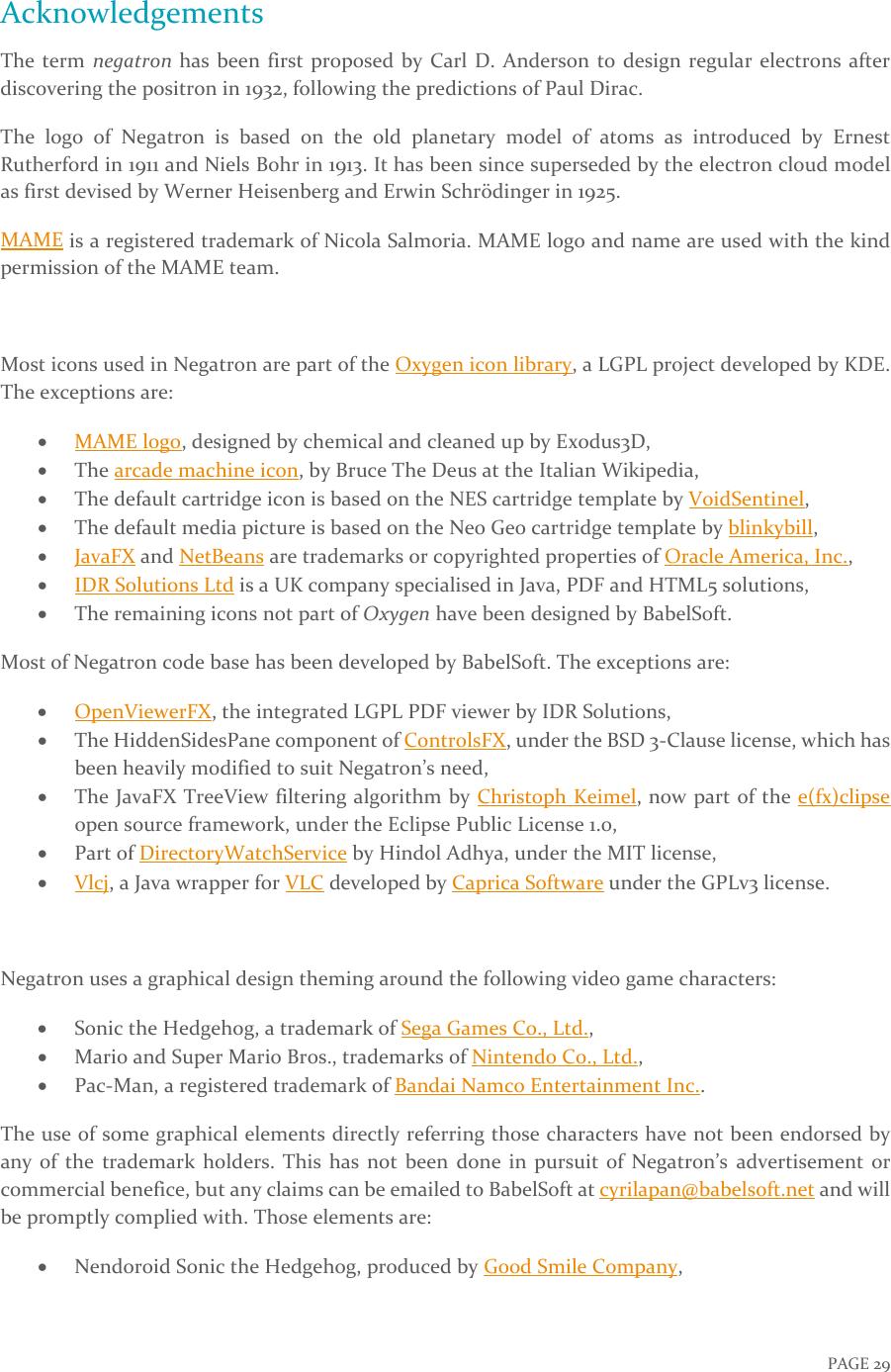 Negatron / 负电子 Manual