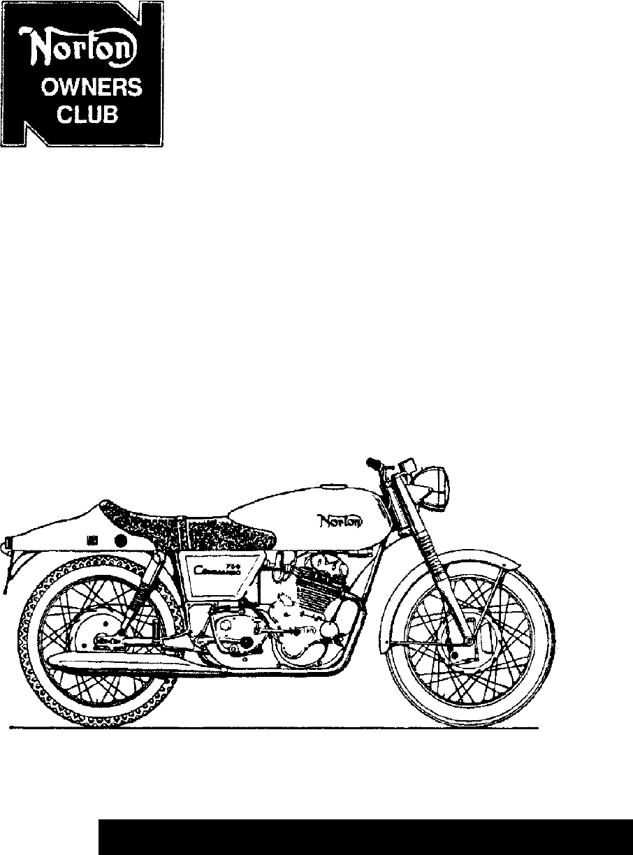 Norton Commando 750cc Service Notes 750 Manual1 Wiring Harness