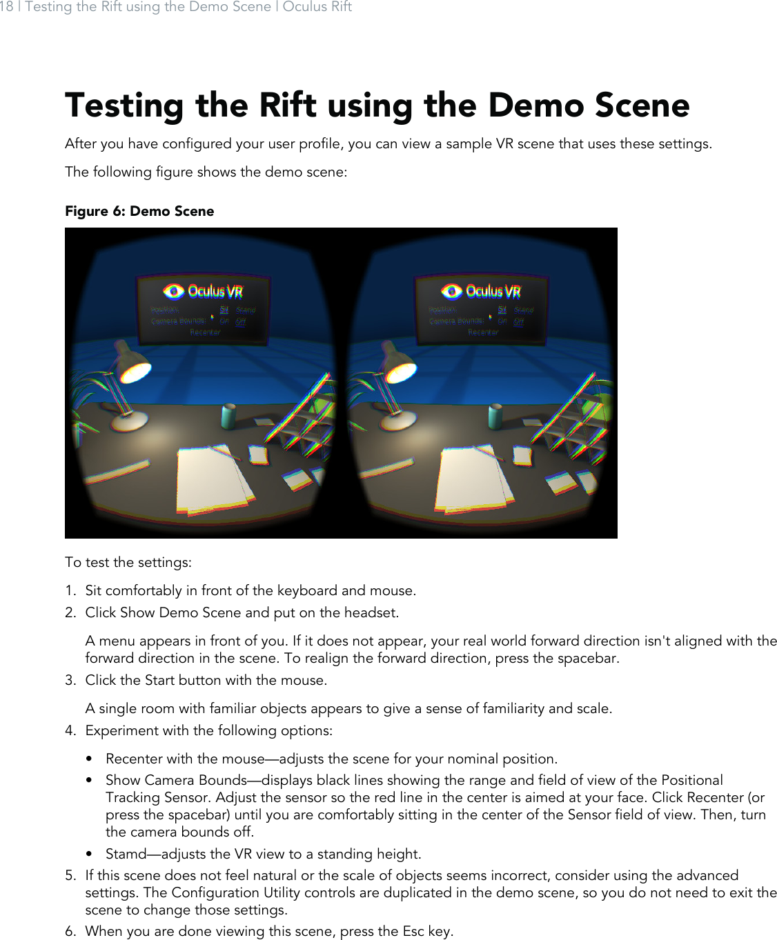 XMP Structure: 1 Oculus Getting Started Guide