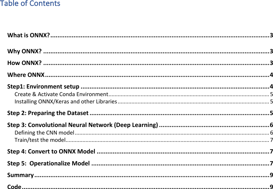 Operationalizing Deep Learning A Starter Guide
