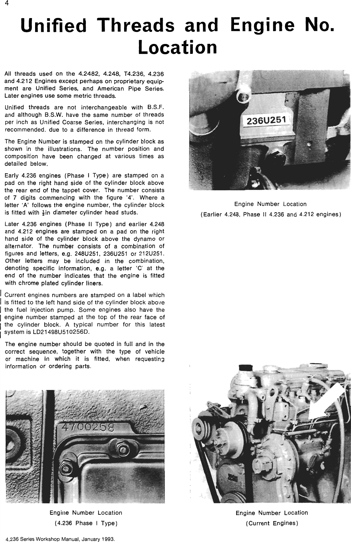 Perkins 4 326 Workshop Manual
