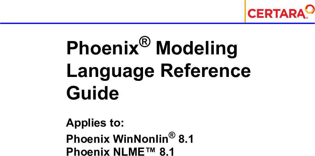 Phoenix Ing Language Reference Guide