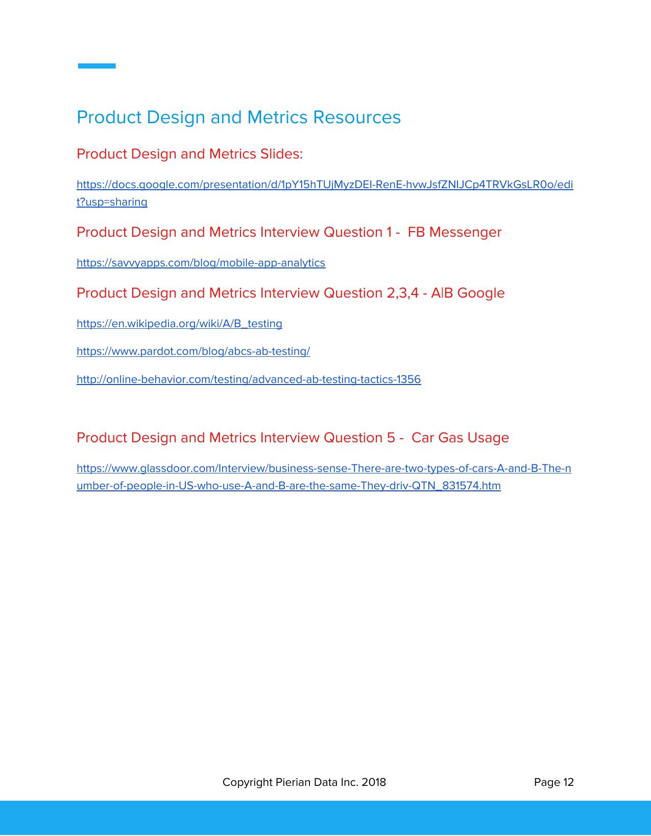 Pierian Data Inc  Science Career Guide Course Guidebook