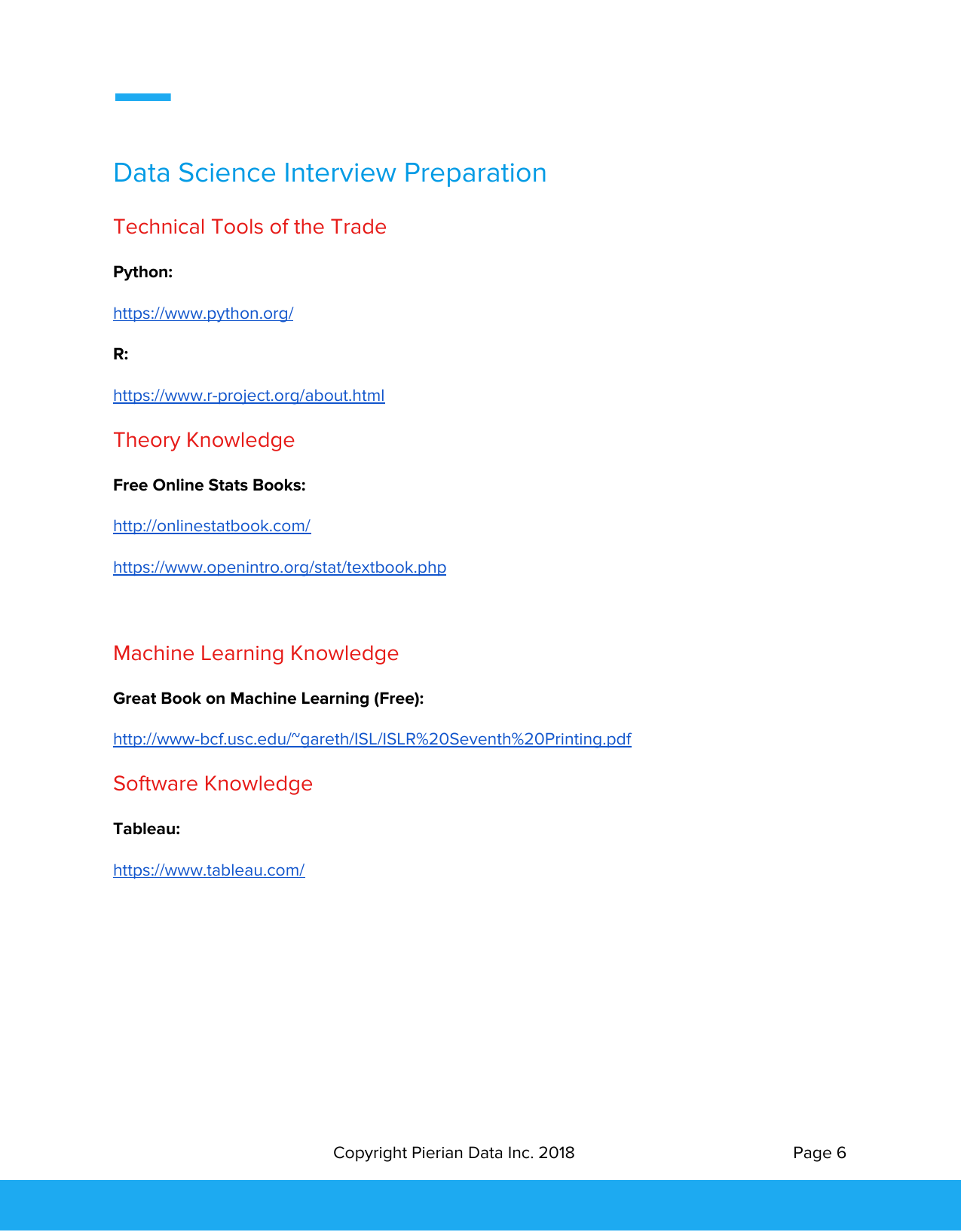 Pierian Data Inc  Science Career Guide Course Guidebook