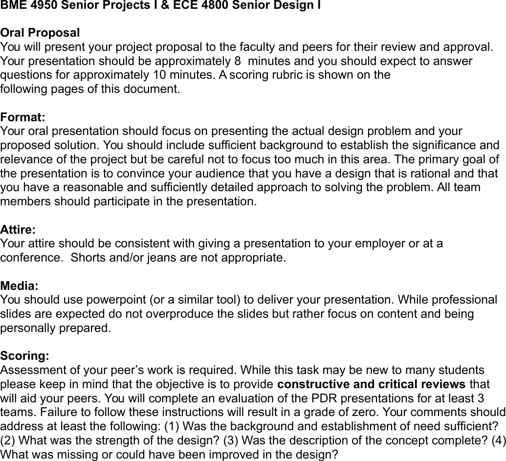 Page 1 of 3 - Presentation Instructions And Rubric 2015
