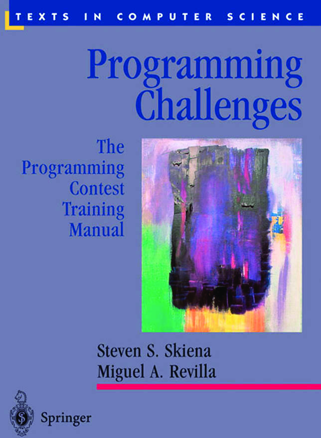 Programming Challenges: The Con Training Manual (Texts In