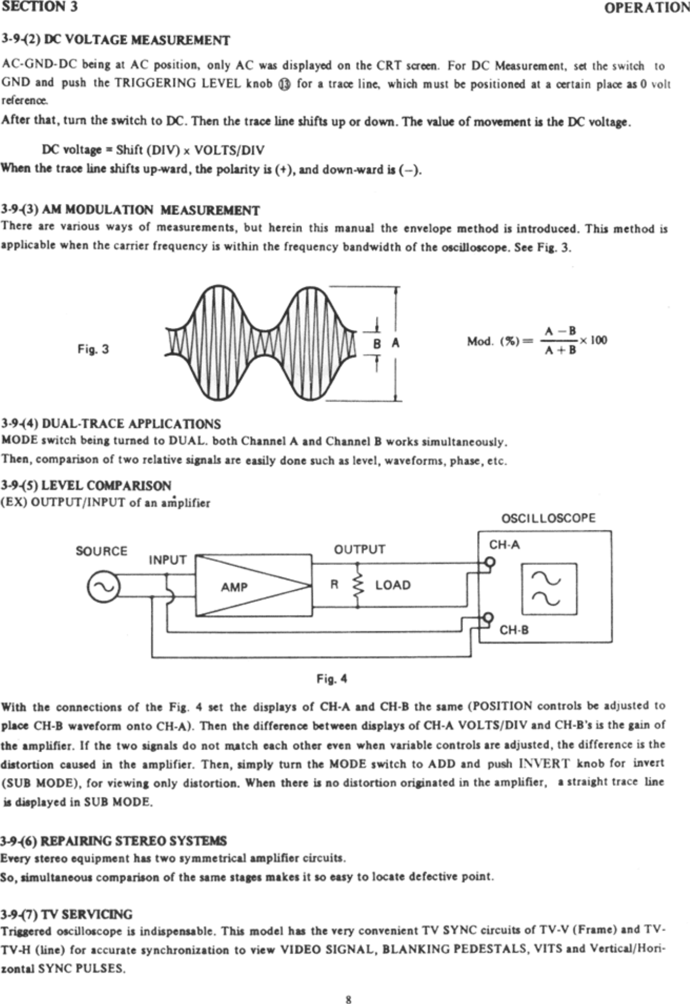 Protek P3502C Oscilloscope User Manual