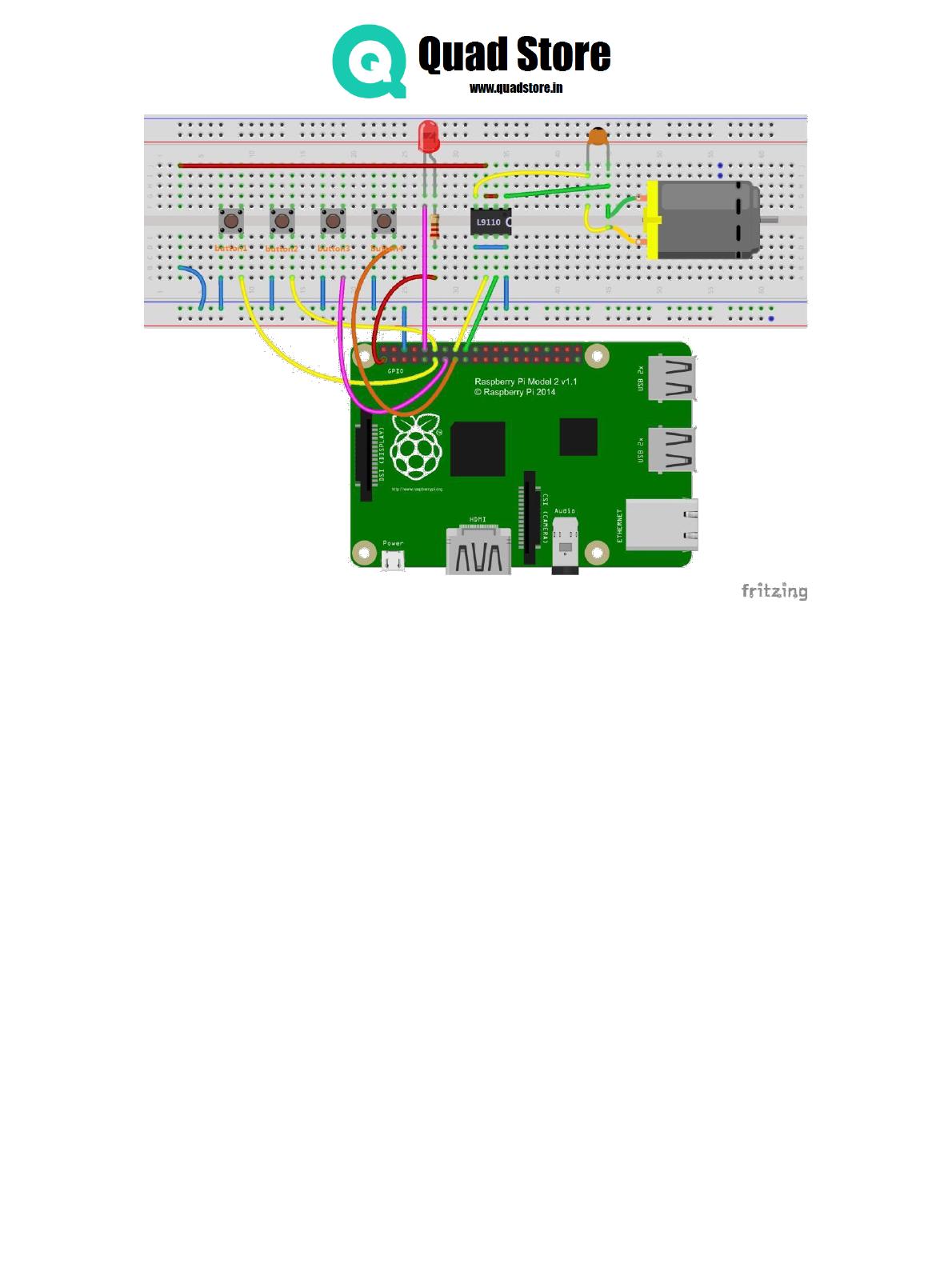 Quad Store Ultra Starter Kit For Rpi Manual Import Wiringpi Error 2 Program
