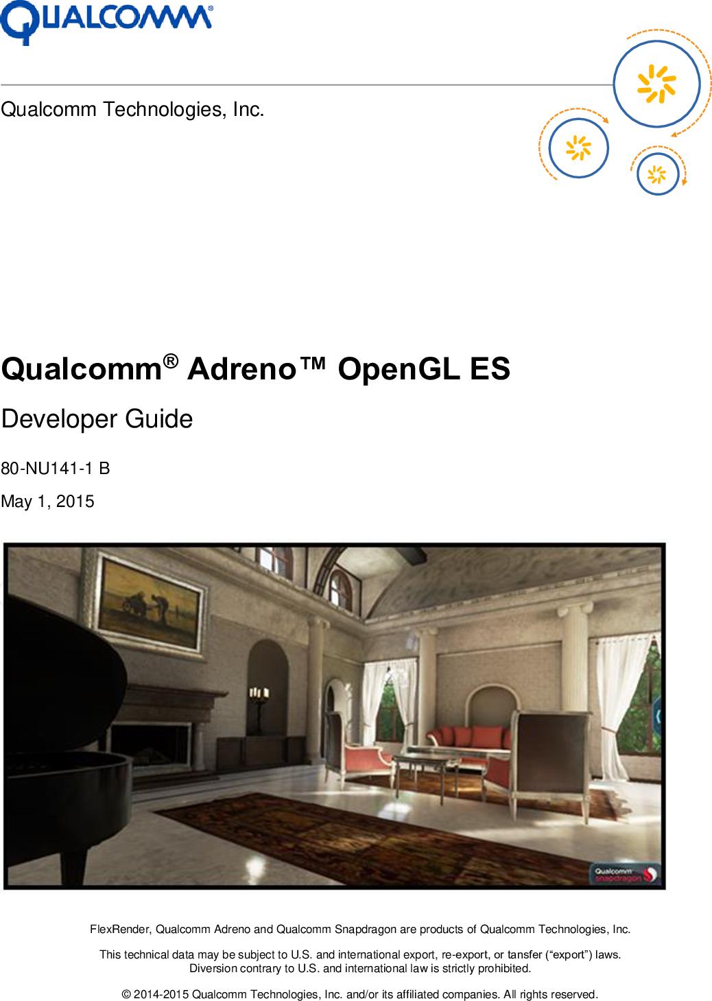 Qualcomm_Adreno_OpenGL_ES_Developer_Guide Qualcomm® Adreno™ Open GL