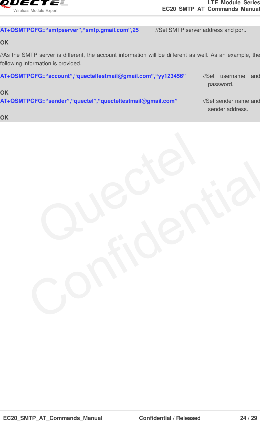 Quectel EC20 SMTP AT Commands Manual V1 0