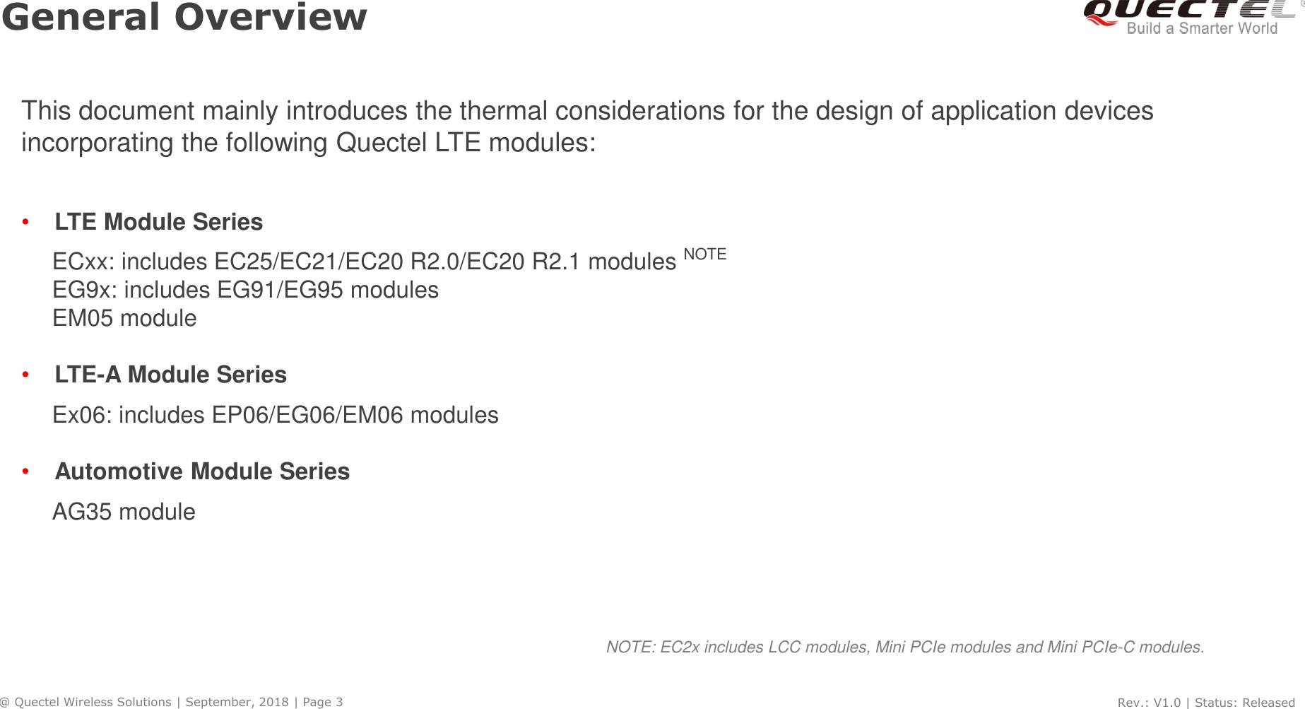 幻灯片 1 Quectel LTE Module Thermal Design Guide V1 0