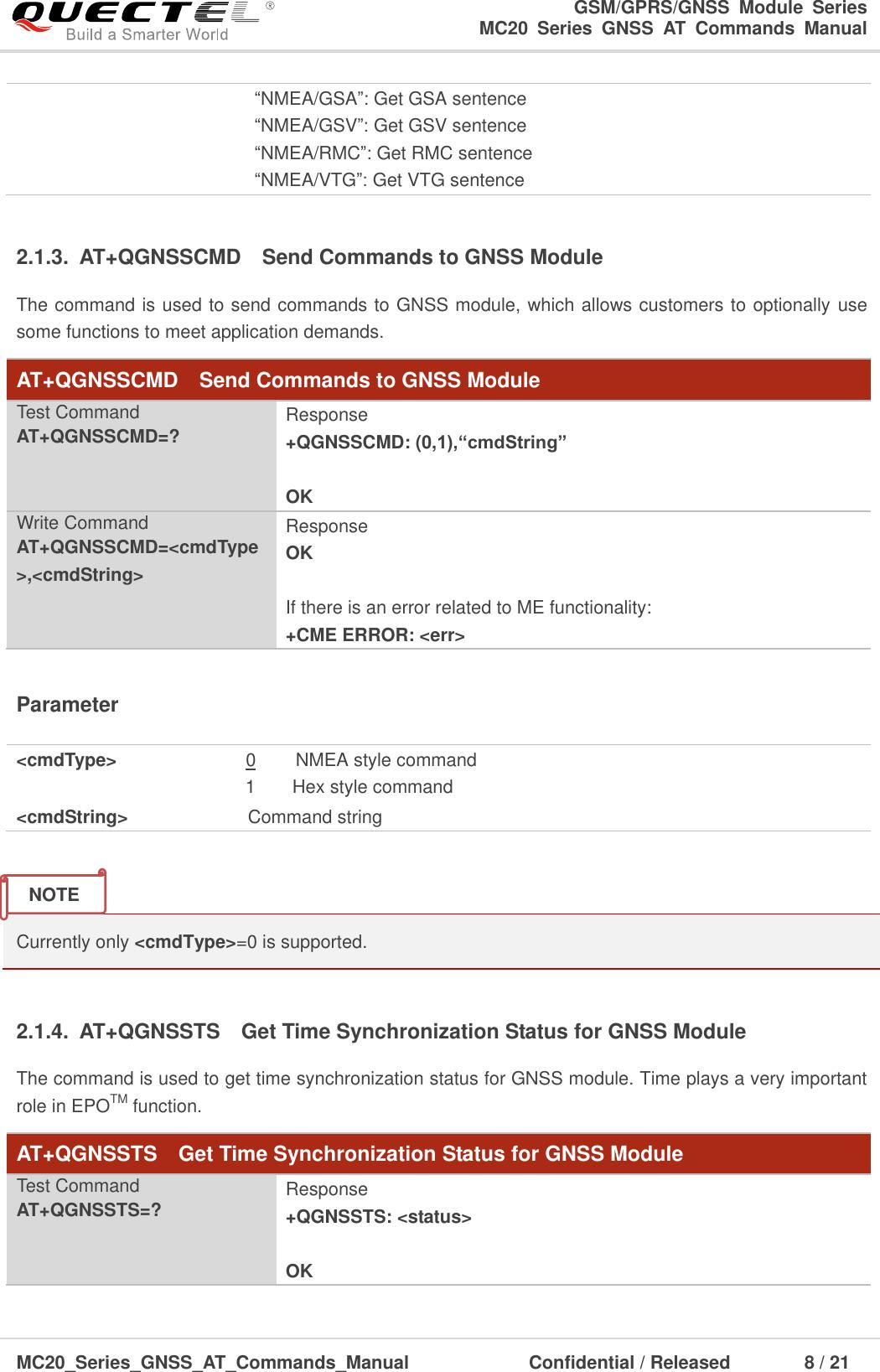 Quectel MC20 Series GNSS AT Commands Manual V1 3