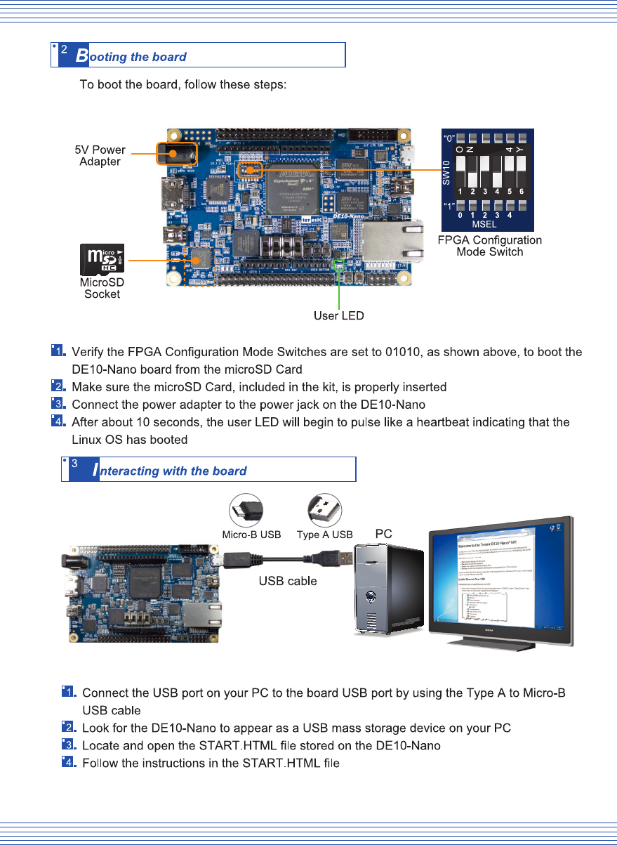 DE10 Nano_Intel_QSG_CPT 3289 02 Quick Start Guide