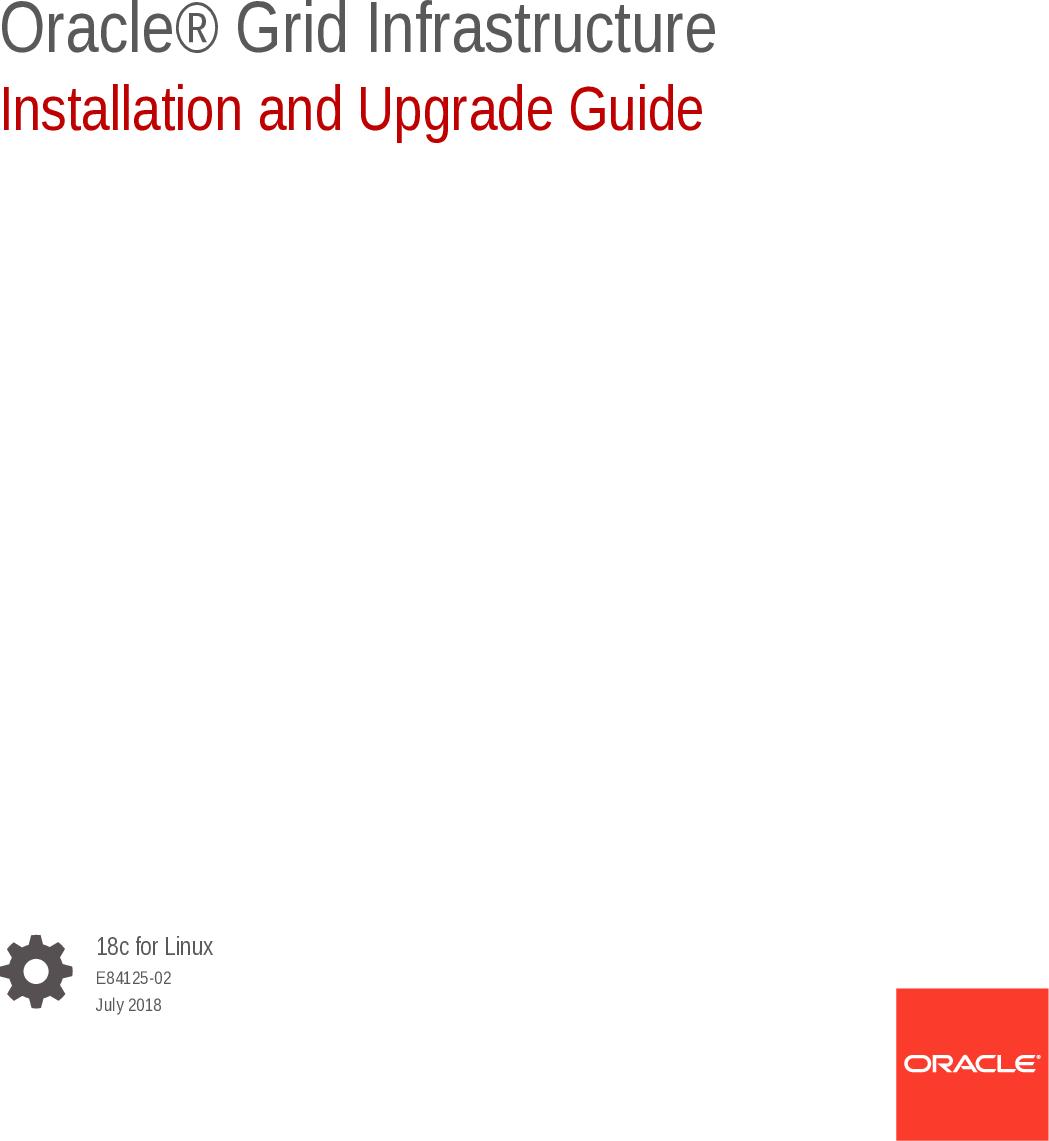 Uninstall Oracle 18c