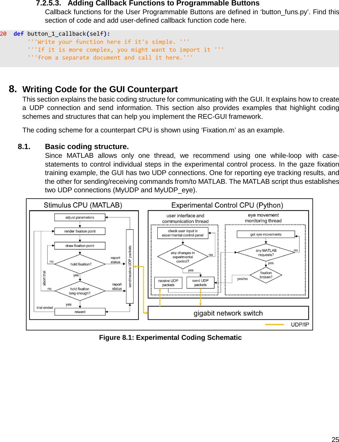 REC GUI User Manual Version 1 01