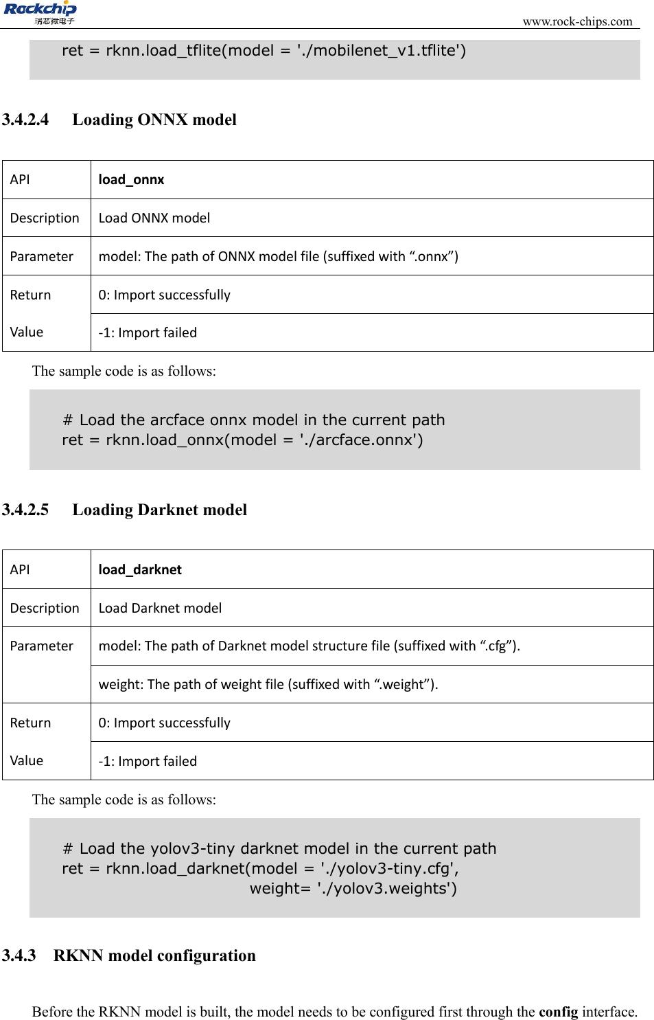 RKNN Toolkit User Guide V0 9 9