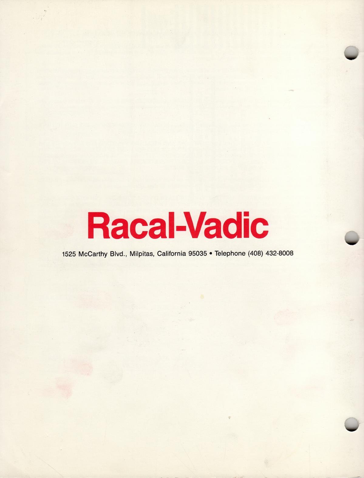Racal Vadic_18008 067_VA2440