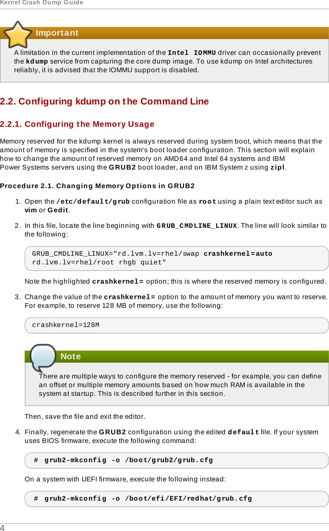 Kernel Crash Dump Guide Red Hat Enterprise Linux 7 Jaromir Hradilek