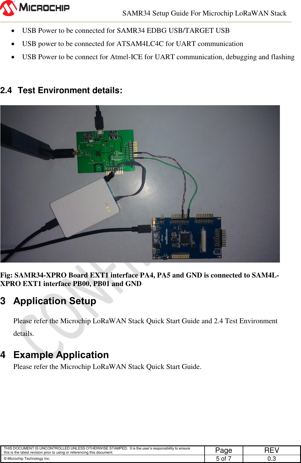 SAMR34 Setup Guide For Microchip Lo Ra WAN Stack